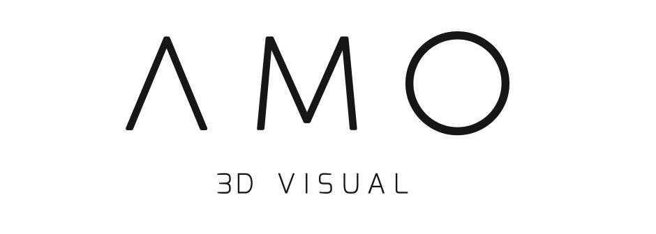 Logo AMO 3D Visual